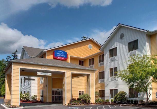 Fairfield Inn & Suites Seattle Bellevue/Redmond  - seattle hotel exterior