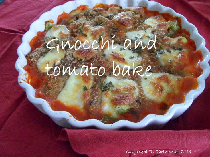 Craft with Ruth Cartwright: Tasty Thursday - gnocchi and tomato bake recipe