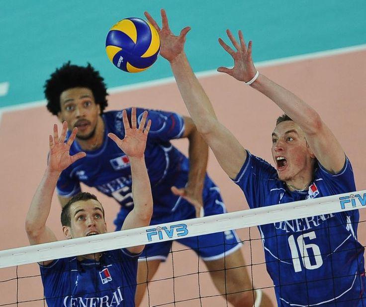 Les titans du sport français L'attaquant central de l'équipe de France de volley-ball a 25 ans