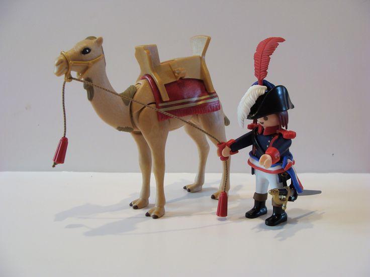 Napoléon en Egypte, playmobil customisé