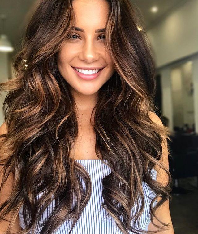 De Mooiste Bruine Haartrends Van Dit Seizoen Fem Fem Fem Fem