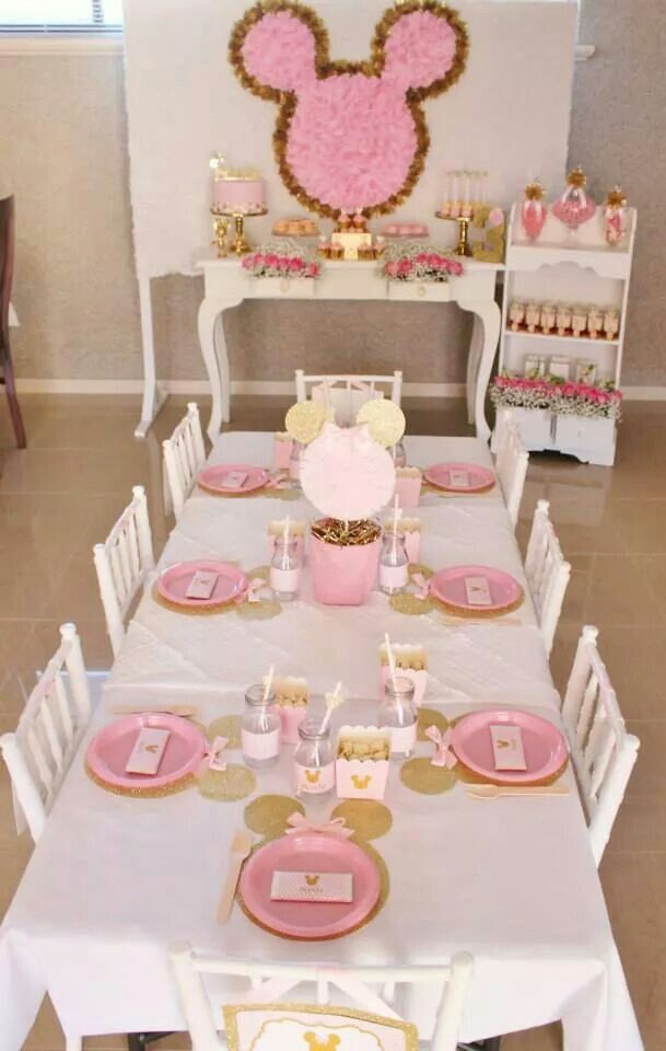 Swooning over this Minnie Party