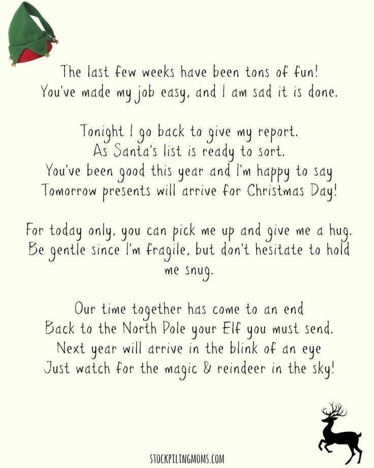 Best  Elf On Shelf Letter Ideas On   Elf Letters Elf