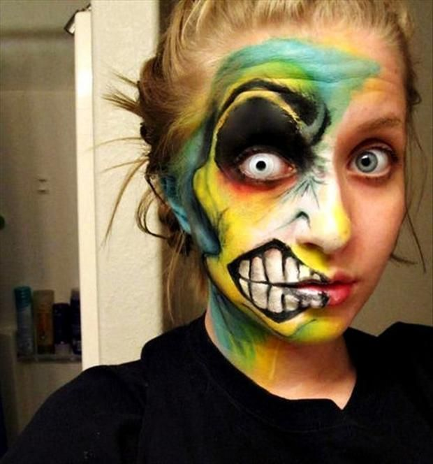20 best Face painting images on Pinterest Artistic make up - best halloween face painting ideas