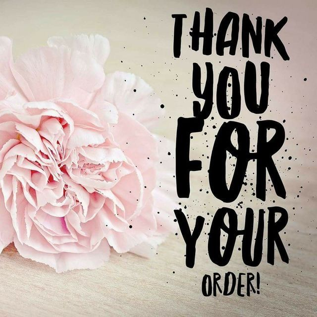 Thank you for your order! #thanks #thankyou #order # ...