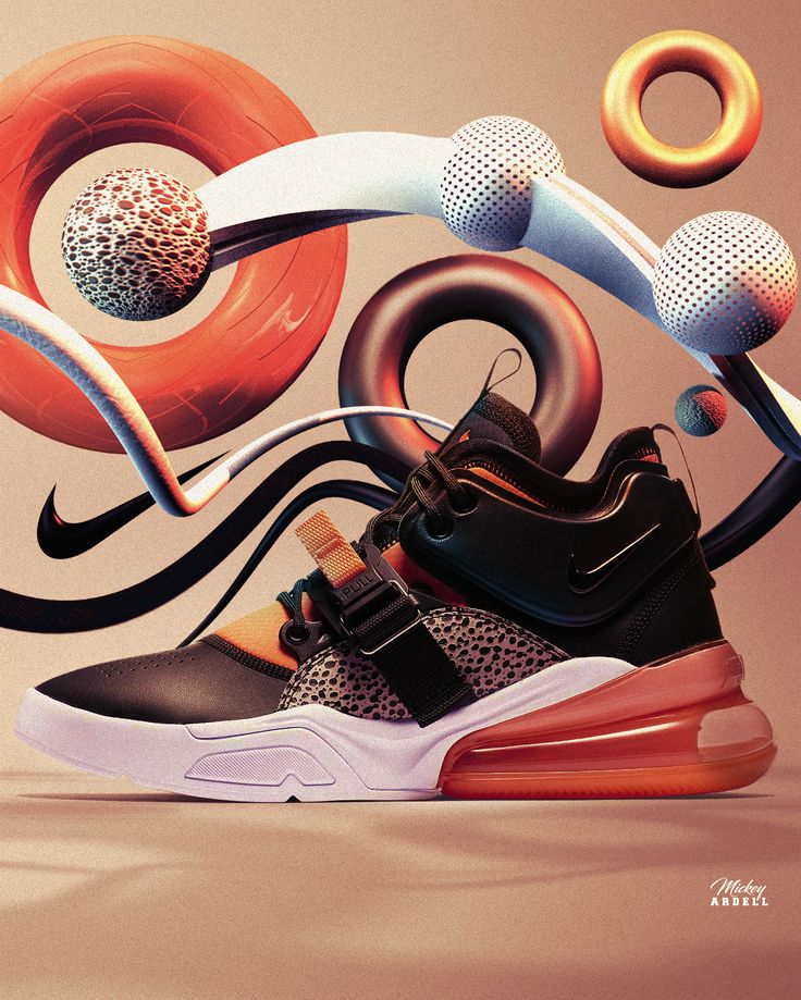 Nike Air Force 270 sneaker art wmcskills (con imágenes