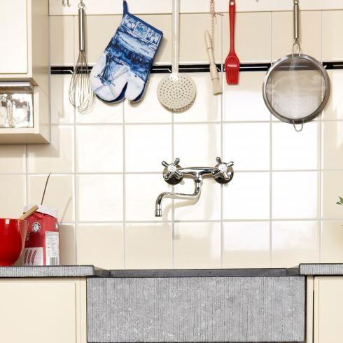 Bruynzeel Piet Zwart glanzend tegelstripje 2.5 x 15 cm met dakje