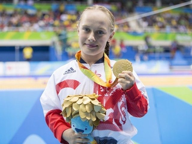 GB add four Paralympic swimming medals