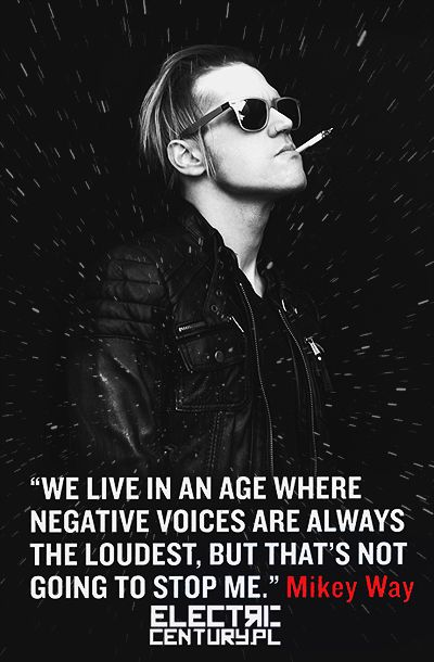 Electric Century - Wonderful quote by Mikey Way!