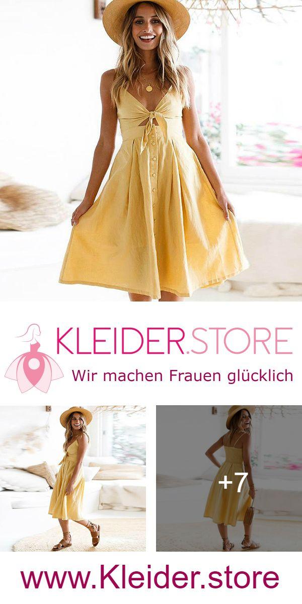 competitive price 15f60 f4e79 Gelbes Kleid Als Hochzeitsgast günstig Online kaufen – jetzt ...