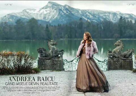 Andreea Raicu in Païsi. Unica Magazine
