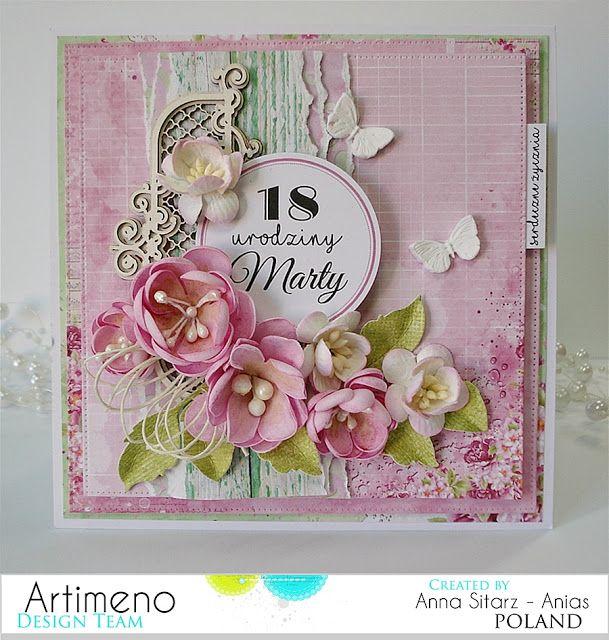 Blog sklepu Artimeno: Kartka urodzinowa- Everyday Spring
