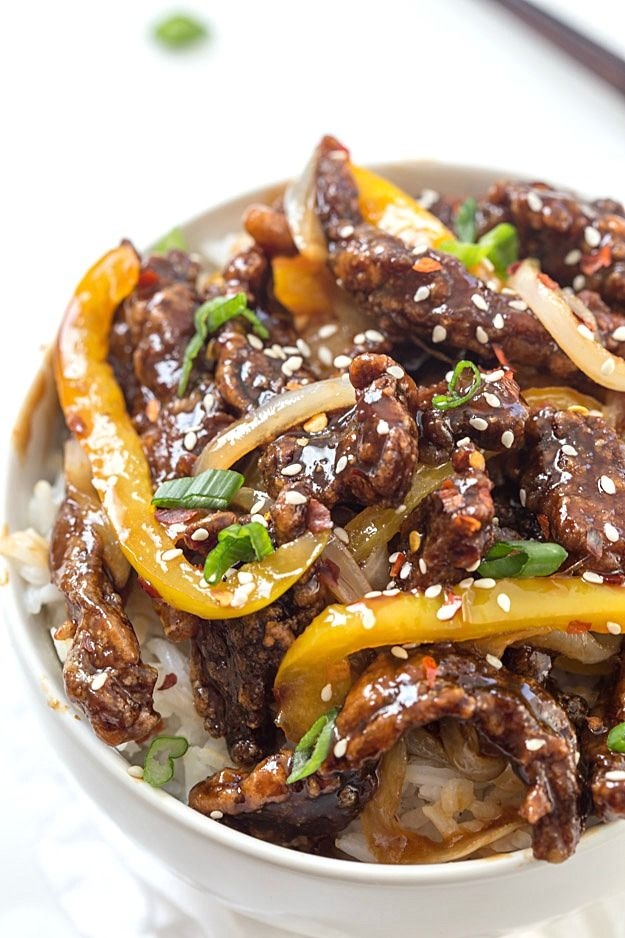 It's asian ground beef stir fry nice big ass