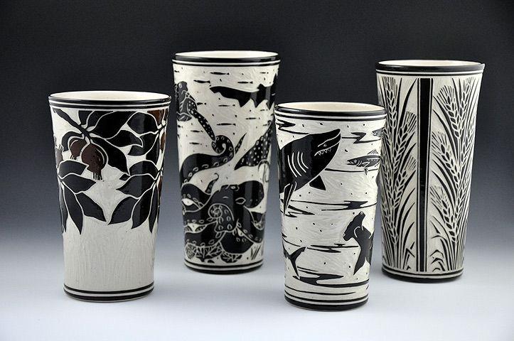 146 Best Sgraffito Ceramics Images On Pinterest