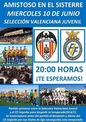 Tribuna Popular de Segorbe: Partidazo contra las promesas del fútbol valencian...