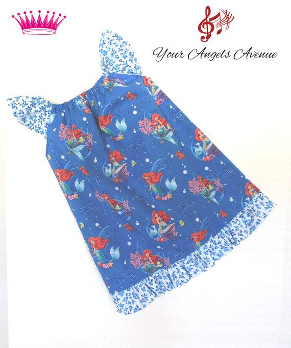 Last One Size 2T Toddler Girls Little Mermaid by YourAngelsAvenue, $24.99