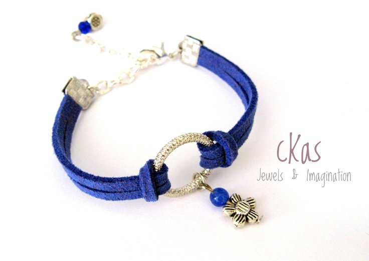 Haiku Bracelet cKas by Klarita Bijoux  -Blu-