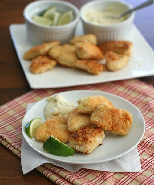 All Day I Dream About Food | Coconut Crusted Mahi Mahi Nuggets – Low Carb and Gluten-Free.