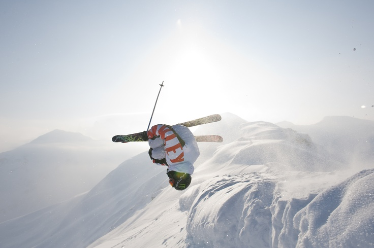 freestyle skiing at Golm in Montafon - Schi fahren am Golm im Montafon
