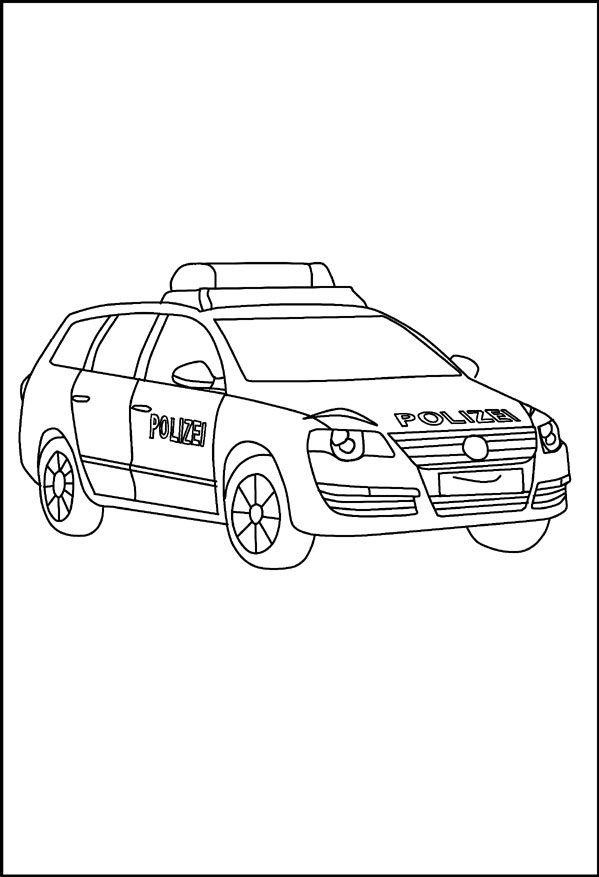 ausmalbilder polizei jeep | polizei geburtstag, polizei