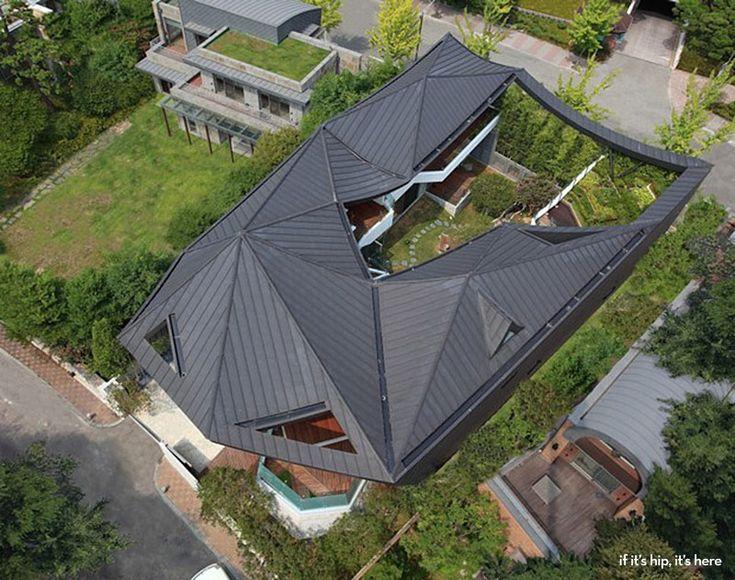 Ga On Jai Home by IROJE KHM Architects.