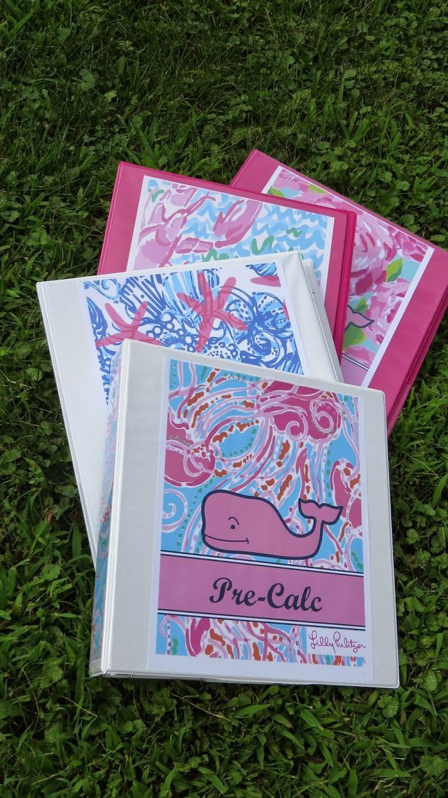 The school year is quickly approaching, so in this tutorial I will show you how to make your own Lilly Pulitzer binder Covers. I made my binder covers in a bunch of my favorite Lilly Pulitzer patterns