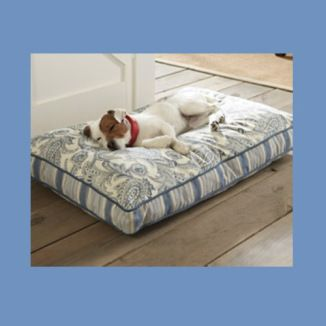 Sweet dog bed on sale! Paisley love! #iheartanimals #bellaatto #ad