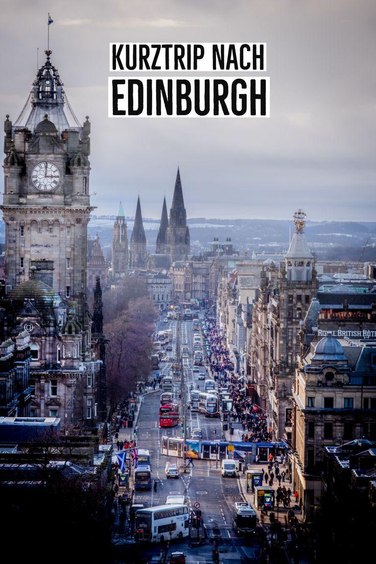 Edinburgh Tipps mit allen Sehenswürdigkeiten und Highlights. PLUS: Vorschlag für 1-3 Tage in der schottischen Hauptstadt. #reisen #edinburgh #scotland