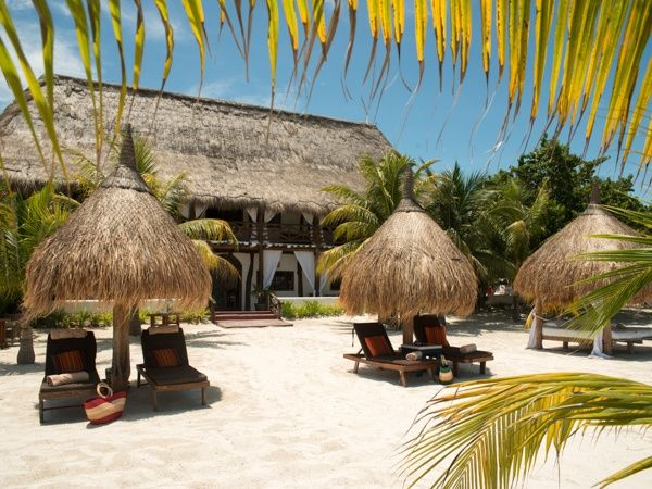 The Riviera Maya is a tourism destination in Mexico that borders the Caribbean sea. It begins in the city of Playa del Carmen and meanders down to Tulum in the south, but it also includes the town of Puerto Morelos in the north and Felipe Carrillo Puerto that is south of Tulum. All along the R
