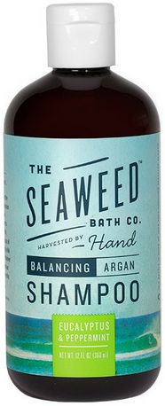 The Seaweed Bath Co. Wildly Natural Seaweed Argan Shampoo  - Eucalyptus & Peppermint $18.79 - from Well.ca