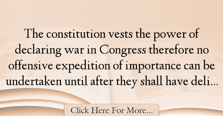 George Washington Quotes About War - 71673