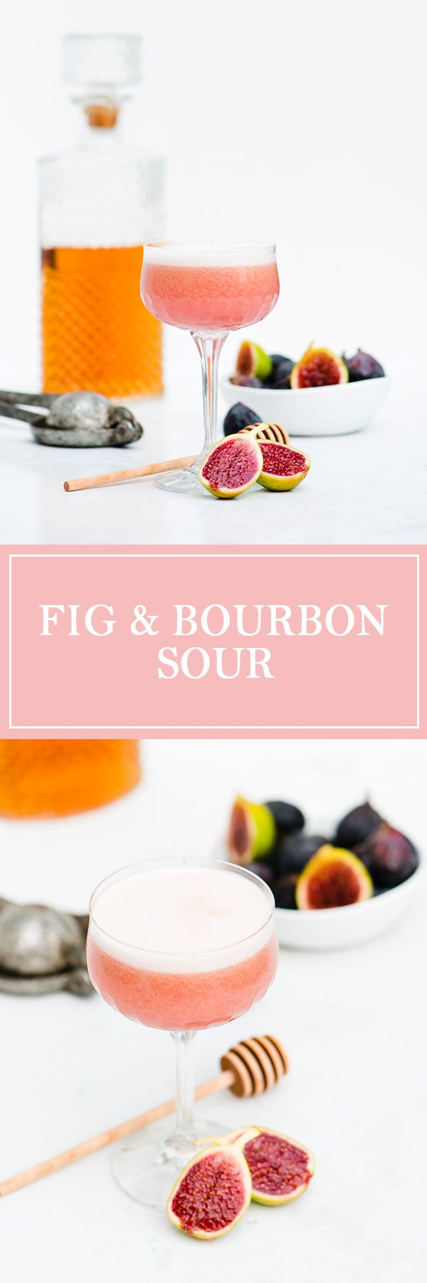 Fig & Bourbon Sour