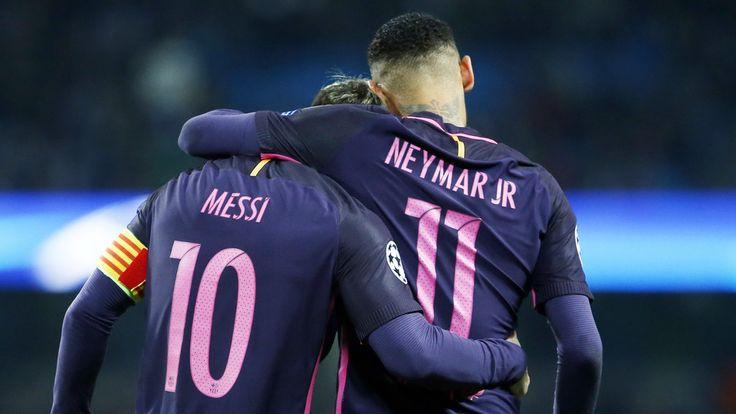 FC Barcelona's Neymar Jr and Leo Messi, up for the 2016 Puskas Award - FC Barcelona