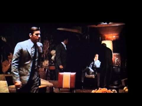 Father loved this part in the movie. No mangaire con Hyman Roth!