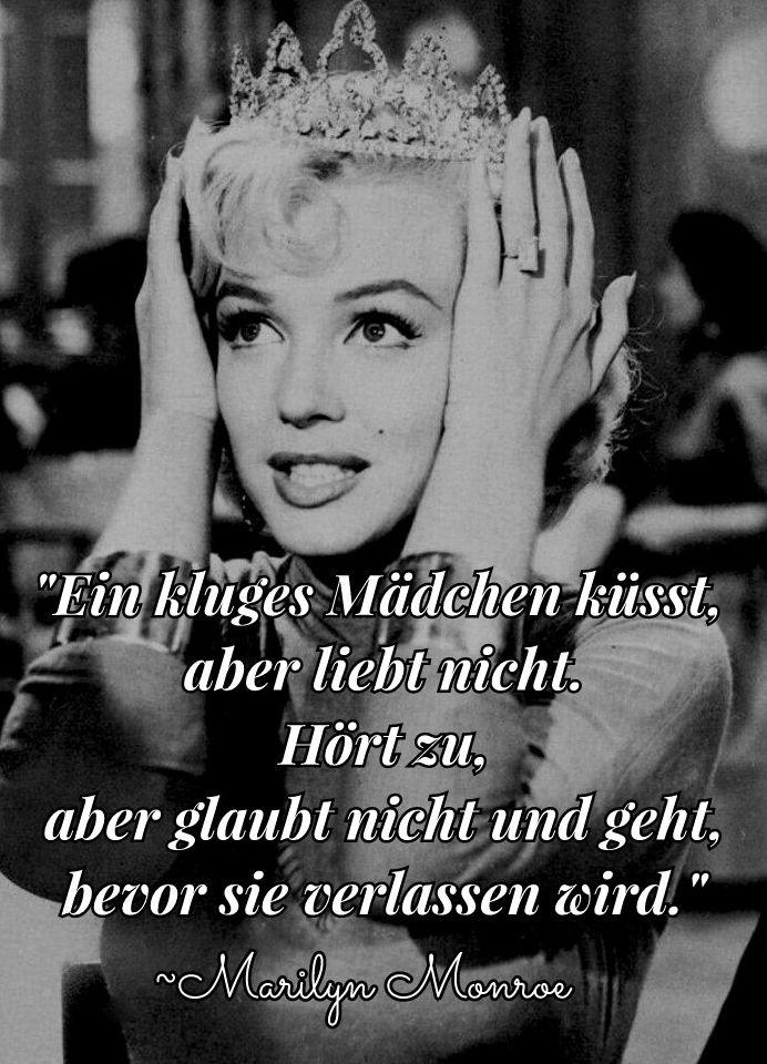 Zitat Auf Deutsch Marilyn Monroe Marylin Monroe Zitate Marilyn Monroe Zitate Zitate