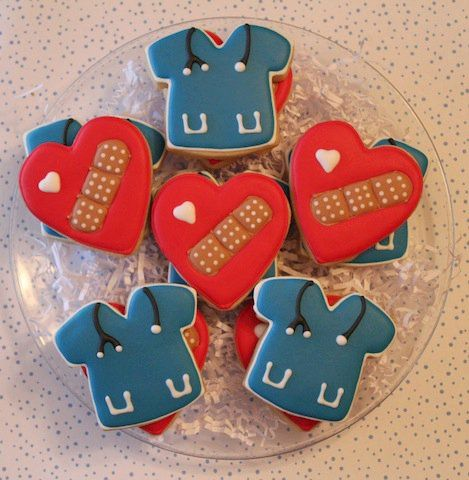 Nurse Cookies - if I have time after studying I will make them.!!