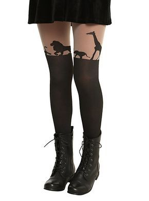 Disney The Lion King Faux Thigh High Tights | Hot Topic