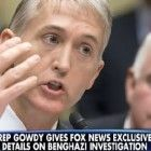 """Trey Gowdy Will Get the """"Strongest Authority Possible"""" to Investigate Benghazi"""