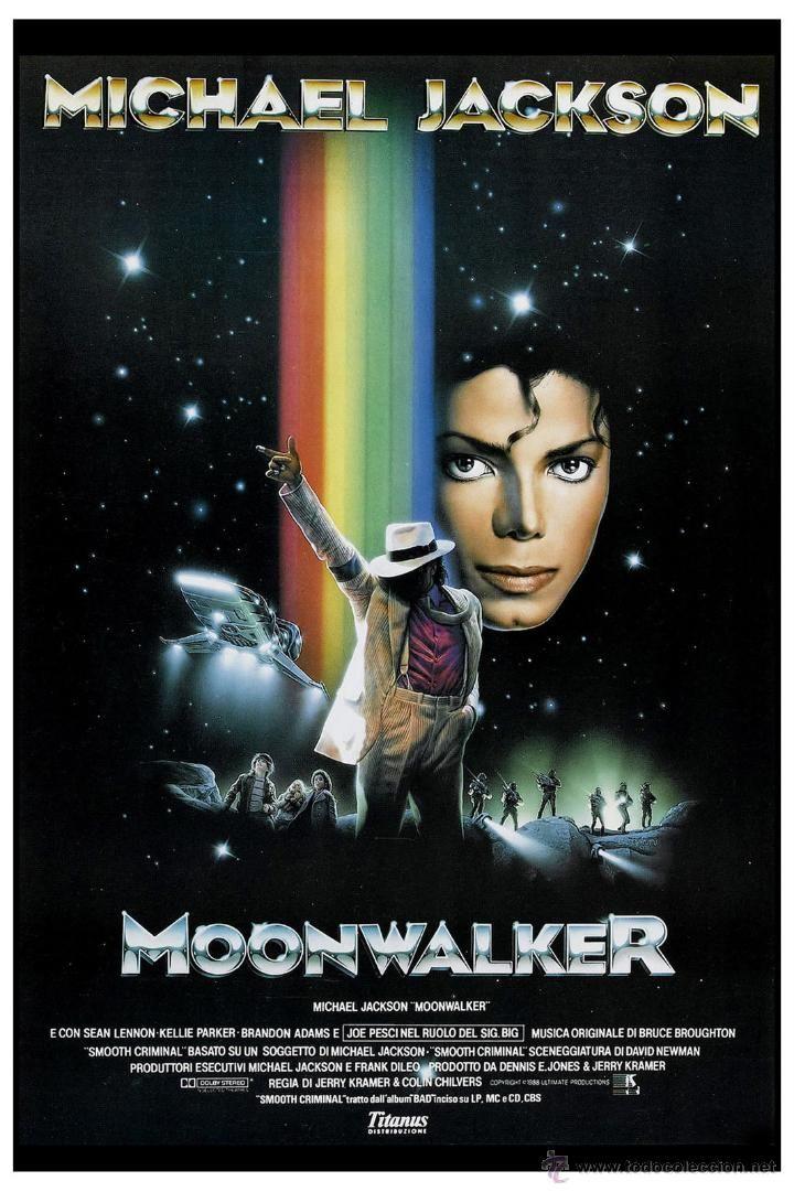 michael jackson - Moonwalker * Movie Poster 1989