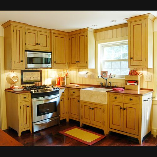 New Kitchen Before And After: The Workshops Of David T. Smith