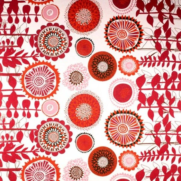 Spira Solros Red Fabric