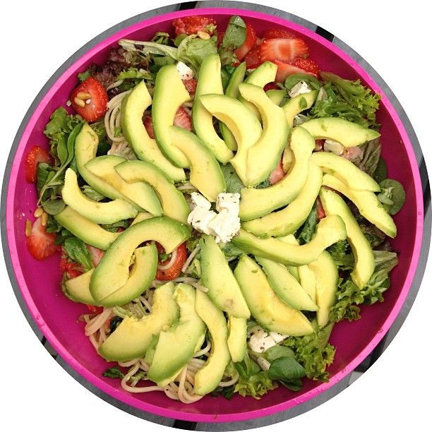 #Insalata con #avocado