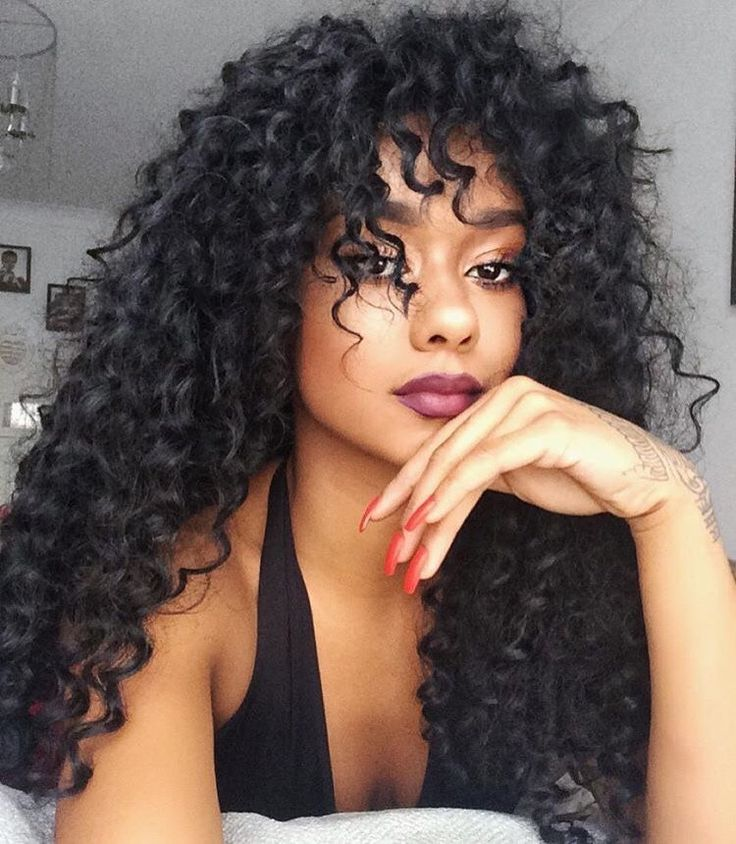 Curly Weave With Bangs Find Your Perfect Hair Style