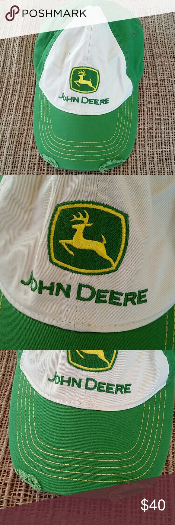 John Deere baseball hat John Deere hat  New! John Deere Accessories Hats