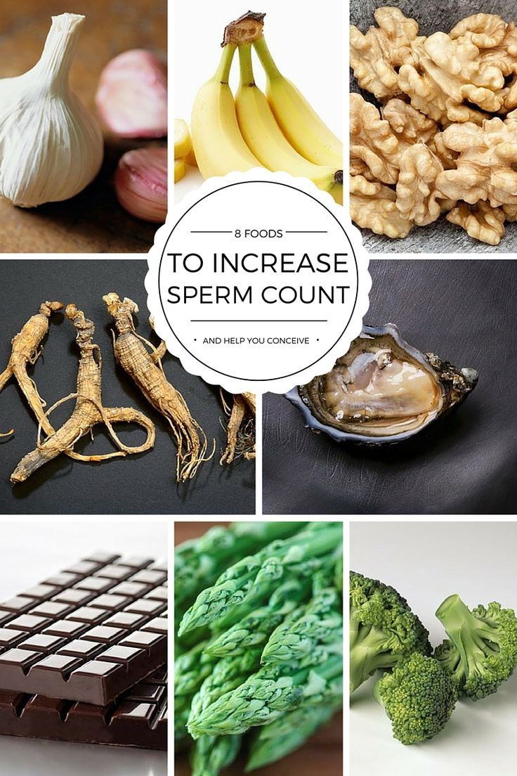 Things that can help sperm quality