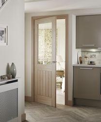 Holdenby Oak Glazed Door
