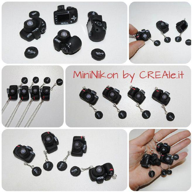 #MiniNikon #miniature #Nikon #handmade with #fimo
