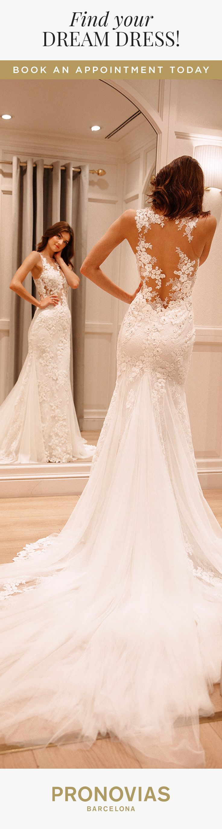 Could Dadiva from #Pronovias2018 be the dress for your big day?! Live the Pronovias Experience at your nearest store!