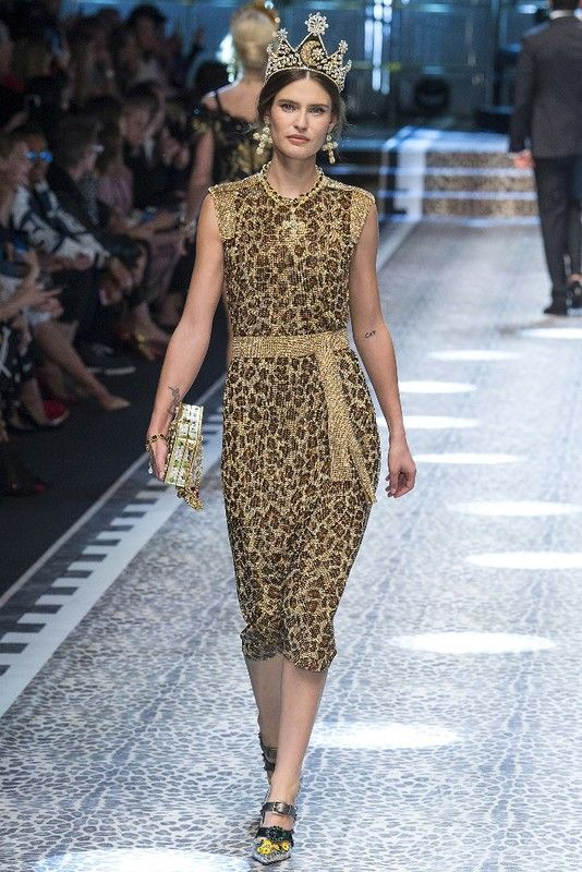 Милан: Dolce & Gabbana осень-зима 2017-2018: myfashion_diary