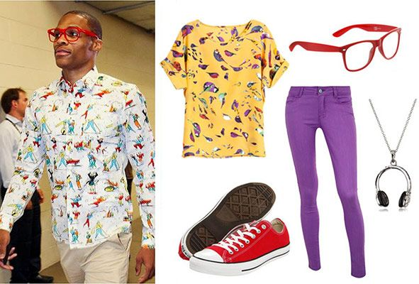 Fashion Inspired by Russell Westbrook